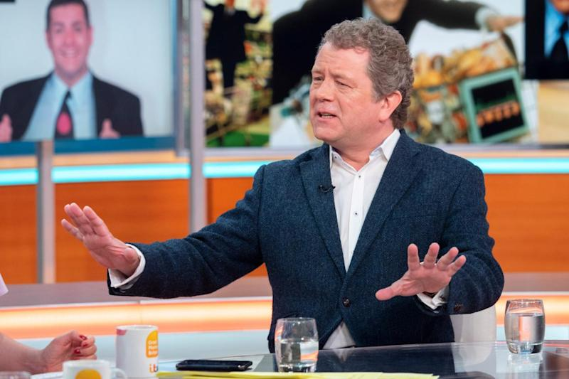 Tribute: Jon Culshaw spoke about working with Dale Winton (Ken McKay/ITV/REX)