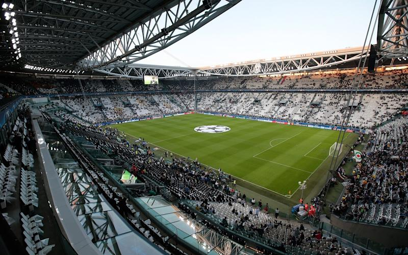 A general view of the stadium ahead the UEFA Champions League Quarter Final first leg match between Juventus and FC Barcelona - Credit: GETTY