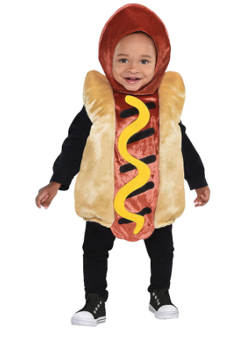 Mini Hot Dog Costume