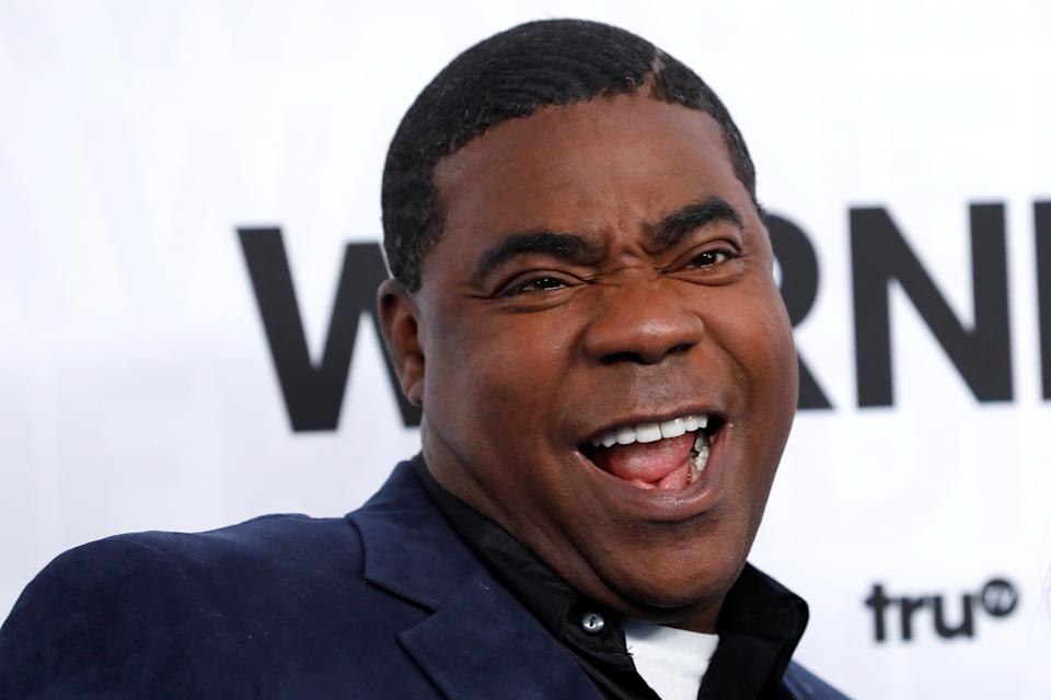 Actor Tracy Morgan poses as he arrives at the WarnerMedia Upfront event in New York City, New York, U.S., May 15, 2019. REUTERS/Mike Segar