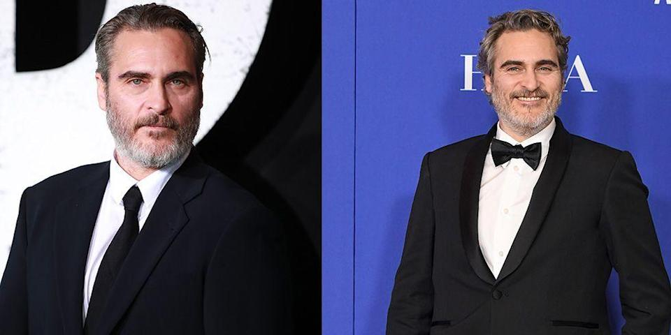 <p>Academy Award winner Joaquin Phoenix is famously earnest in front of photographers, but even he couldn't contain his excitement during this year's award season, which he swept thanks to his role in <em>The Joker. </em> </p>