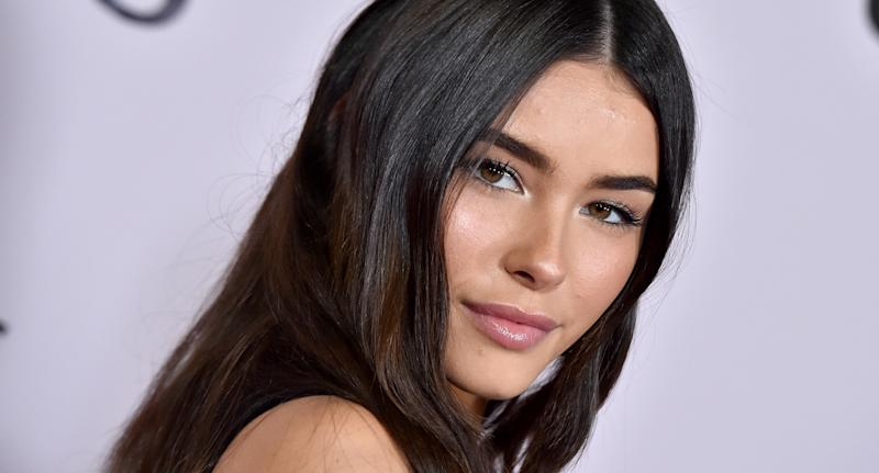 Singer Madison Beer celebrated International Women's Day by addressing her leaked photo scandal. (Photo by Axelle/Bauer-Griffin/FilmMagic)