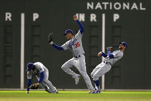 The Los Angeles Dodgers will return home to Dodger Stadium on Friday in a 2-0 hole to the Boston Red Sox in the World Series. (Getty Images)