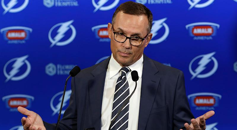 Steve Yzerman Steps Down As Tampa Bay Lightning GM