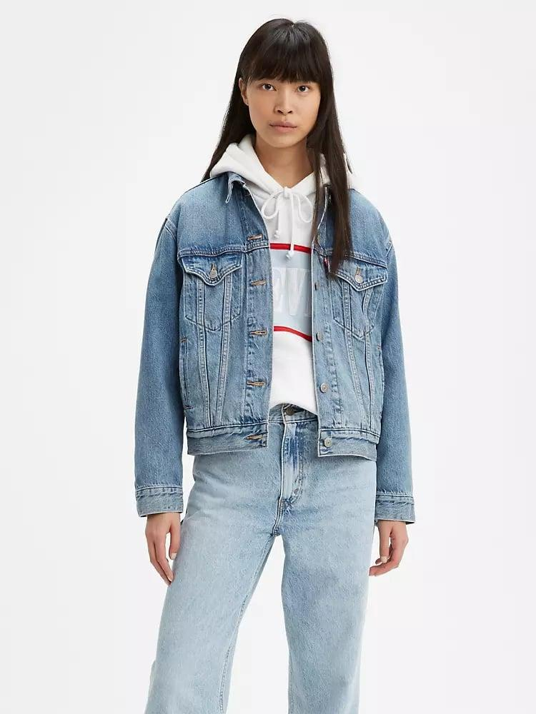 <p>This <span>Levi's Ex-boyfriend Trucker Jacket</span> ($98) is the perfect oversized fit, and the soft denim makes you want to wear it all day long.</p>