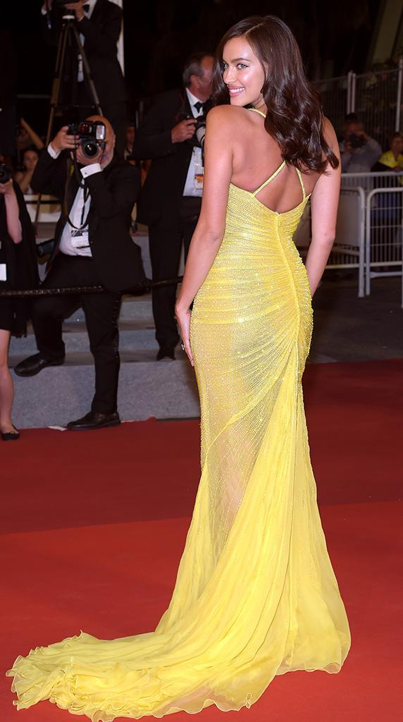 Irina Shayk attends the <em>Hikari (Radiance)</em> screening at the 70th annual Cannes Film Festival. (Photo: Pascal Le Segretain/Getty Images)