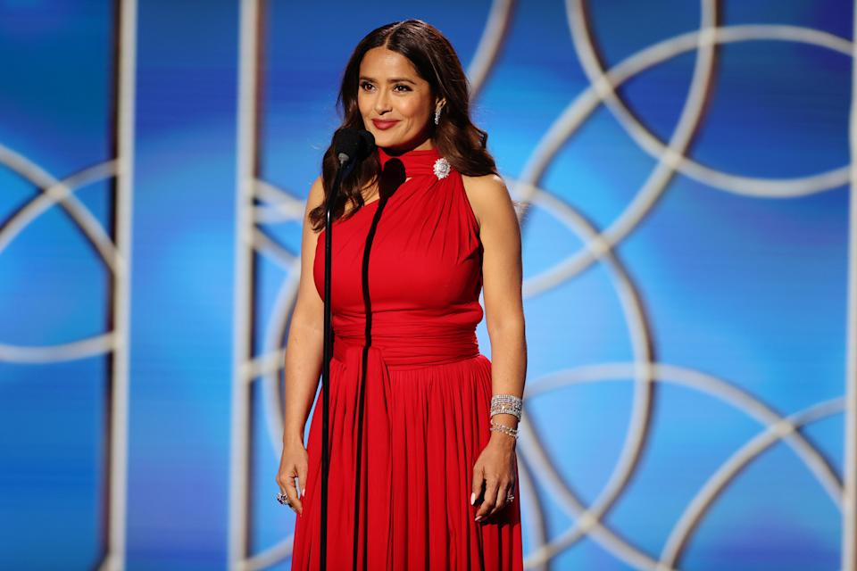 Salma Hayek pushed back on the narrative that there's an