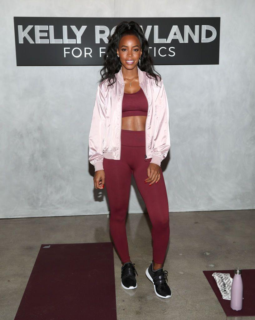 "<p>It's hard to find people who love burpees, but this Destiny's Child singer <a href=""https://www.womenshealthmag.com/fitness/a19934648/kelly-rowland/"" rel=""nofollow noopener"" target=""_blank"" data-ylk=""slk:swears by them"" class=""link rapid-noclick-resp"">swears by them</a>. And, clearly, they're paying off. </p>"
