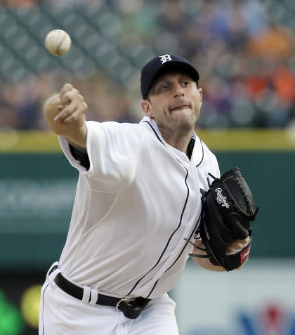 Max Scherzer went 18-5 with a 3.15 ERA for the Tigers last season. (AP)