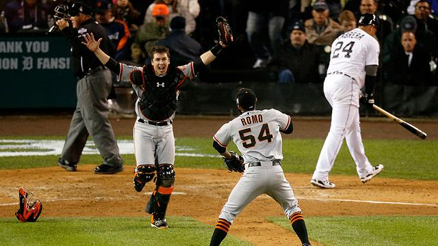 The San Francisco Giants became the first team to win multiple championships in a three-year span since the Yankees of the '90s.  Yahoo! Sports' Tim Brown talks about the recent success of the franchise.