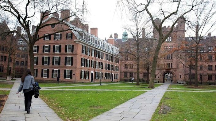 The Old Campus at Yale University, New Haven, Connecticut (file pic)