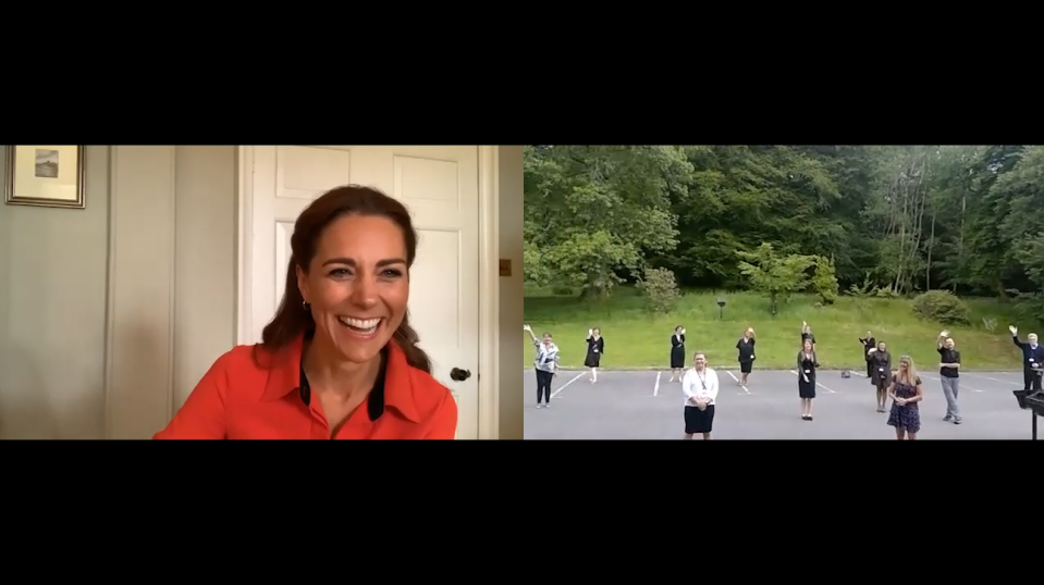 The duchess spoke to Clouds House in Wiltshire. (Kensington Palace)