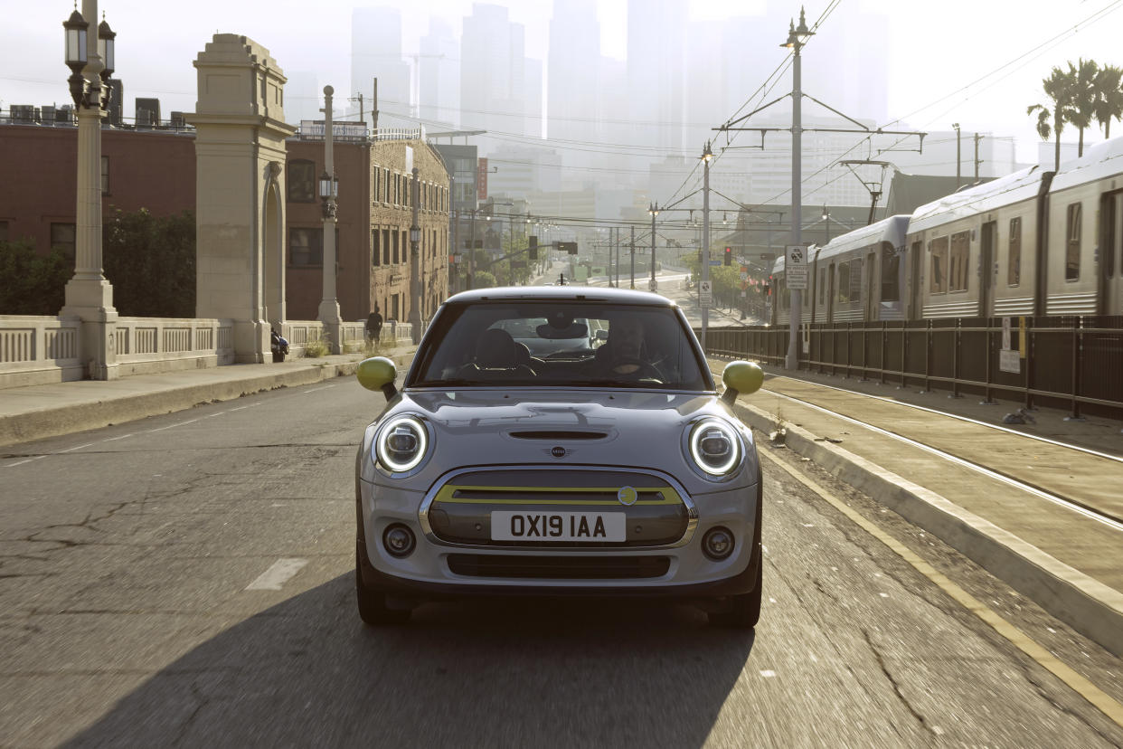 The electric Mini is due to hit showrooms soon