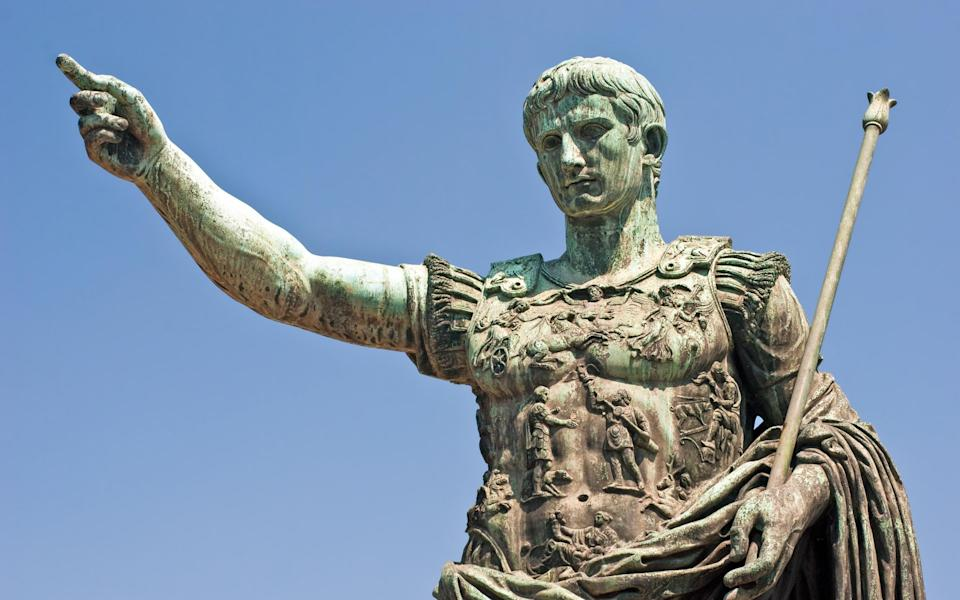 One of (many) statues dedicated to Augustus Caesar - Getty