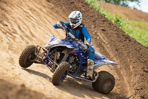 Heading up the ATV MX's AMA Pro class for Yamaha is the second all-time winning, seven-time champion, Chad Wienen, on his Wienen Motorsports / SSI / Fly Racing YFZ450R.