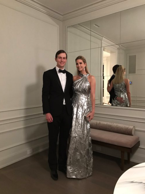 Ivanka Trump has upset the internet by parading her wealth amid the immigration ban