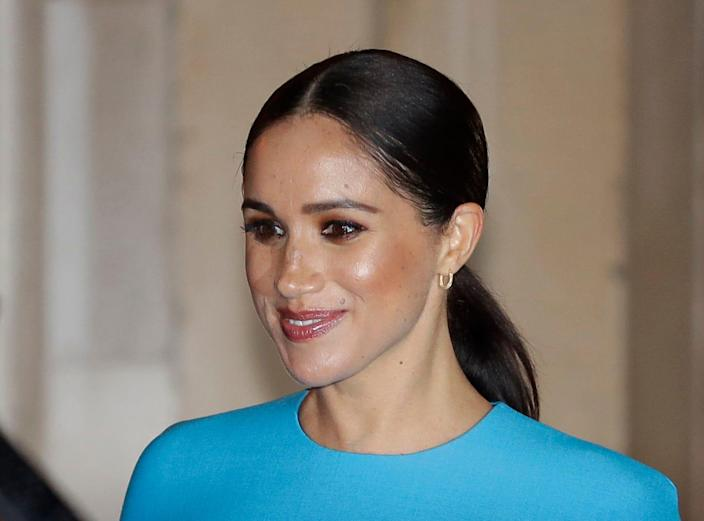 Duchess Meghan of Sussex in London on March 5, 2020.