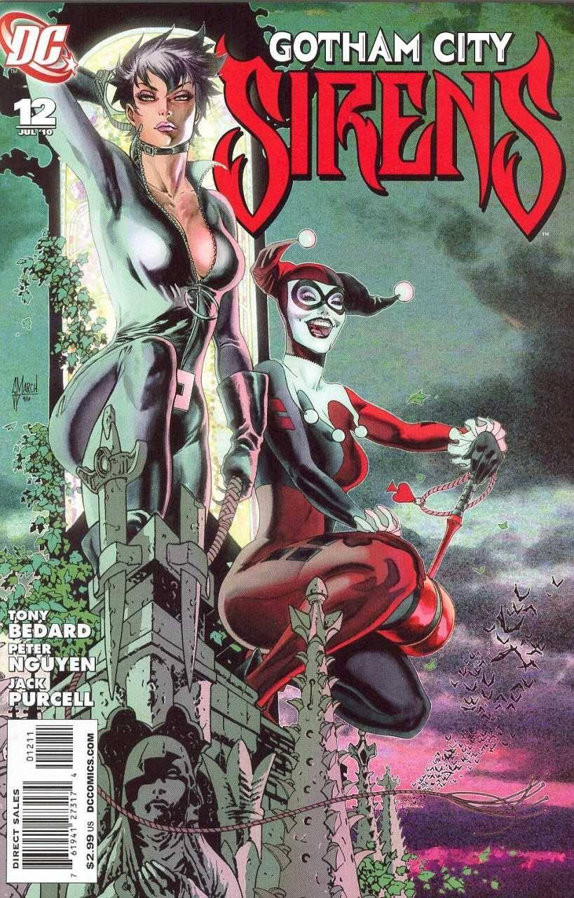 "<p>Meanwhile, back in the comics, a more traditional Harley was teamed with Catwoman and Poison Ivy in this book, scripted in part by Dini. When that title finished its run, Dini says, ""I was afraid she might be in mothballs."" <i>(Image: DC Comics)</i></p>"