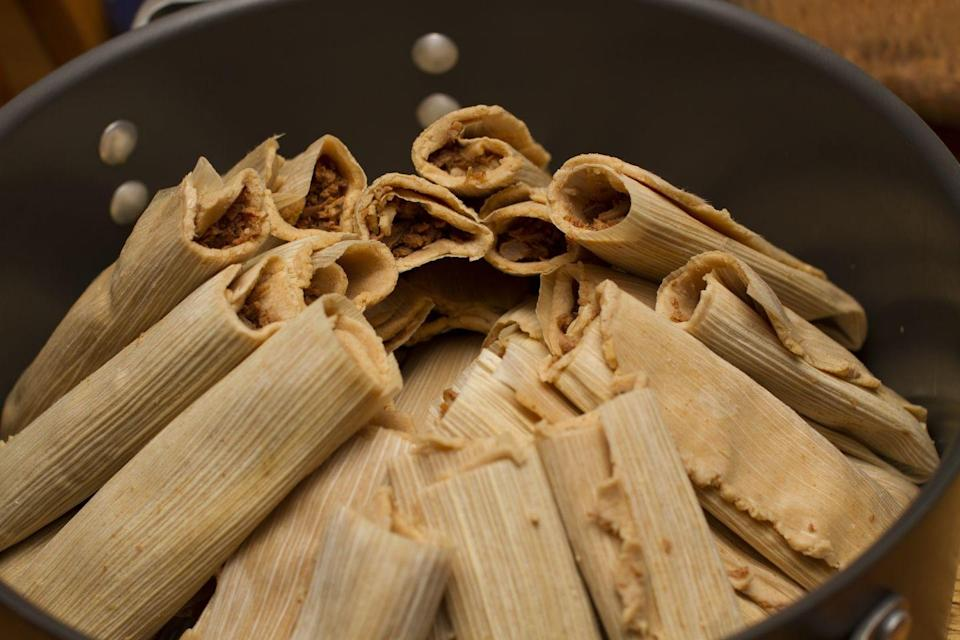 <p>Christmas in New Mexico is a super flavorful, multi-cultural feast. Tamales have become their most famous staple.</p>