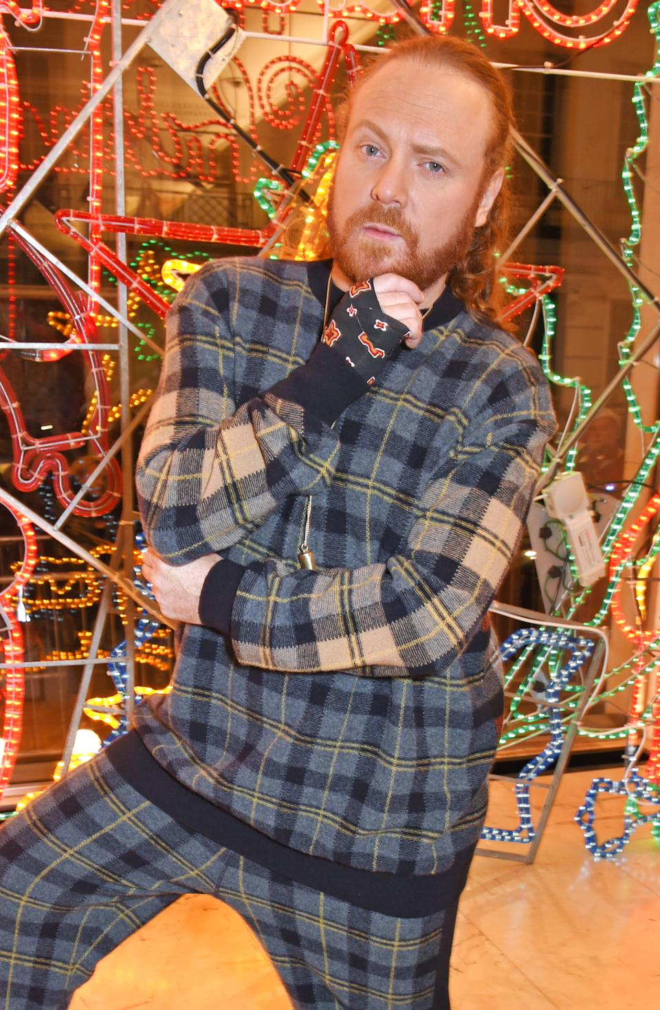 Leigh Francis aka Keith Lemon attend the Stella McCartney Christmas Lights 2017 party on December 6, 2017 in London, England.  (Photo by David M. Benett/Dave Benett/Getty Images for Stella McCartney)