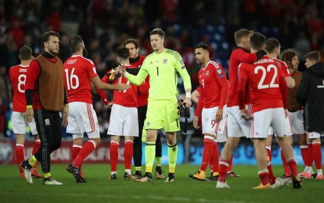 Wales were left heartbroken after missing out on 2018 World Cup qualification in their final game (Nick Potts/PA)
