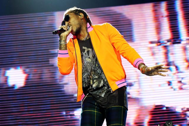 "<p>The rapper did something in February that no one had ever done before: He entered the Billboard 200 at No. 1 with two albums (<i>FUTURE</i> and <i>HNDRXX</i>) in back-to-back weeks. ""Mask Off,"" from <i>FUTURE</i>, became his first top five hit.<br>(Photo: Getty Images) </p>"