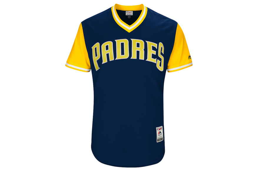 We now have a reason to want a Padres jersey. (MLB)