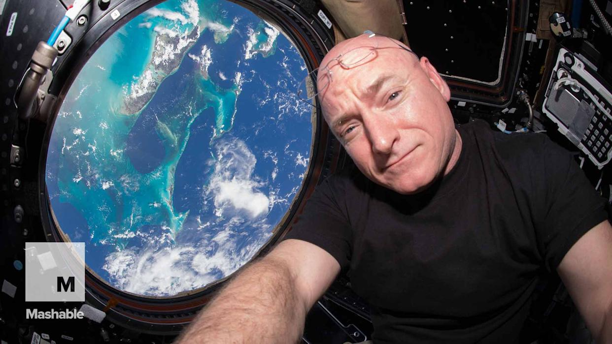 A Look Back at Scott Kelly's Spectacular Year Aboard the Space Station