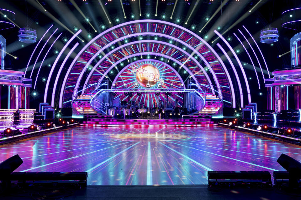 Behind the scenes new Strictly set - (C) BBC - Photographer: Guy Levy