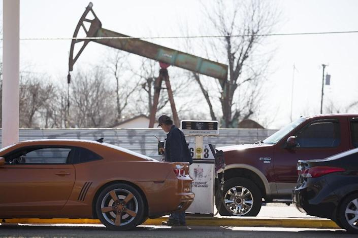 Most of CO2 emissions come from the burning of fossil fuels, including oil (AFP Photo/J Pat Carter)
