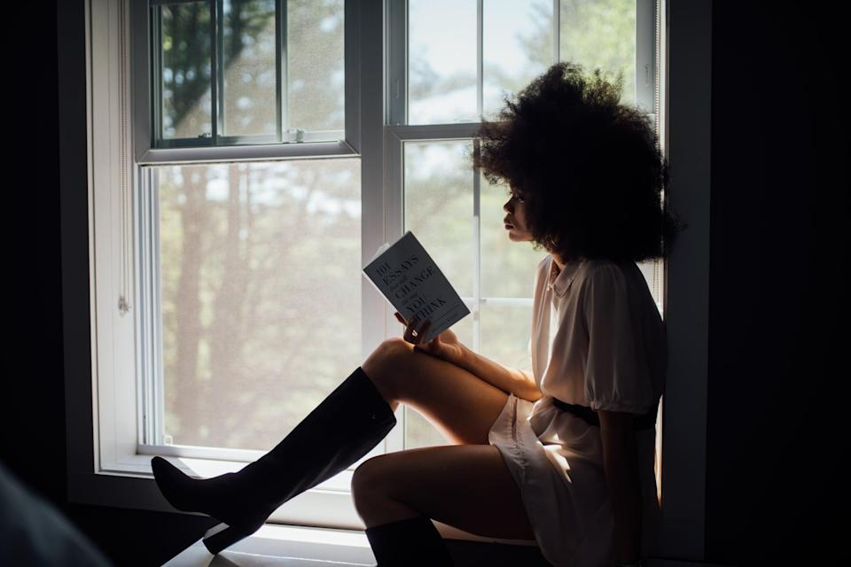 <p>Whether it be drinking hot chocolate while reading a chapter of a book you're currently glued to or taking a hot shower, start your day off on a positive note.</p>