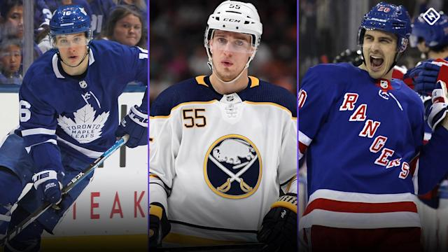 The Maple Leafs, Sabres and Rangers all have big decisions to make in the coming weeks and months as they wade through free agency and trade prospects.
