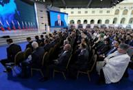 Putin was elected to a fourth term last year with more than 76 percent of the vote