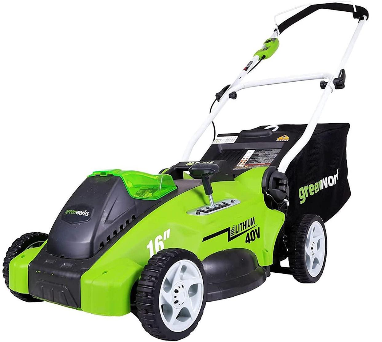 Save $110 on this mower, today only! (Photo: Amazon)