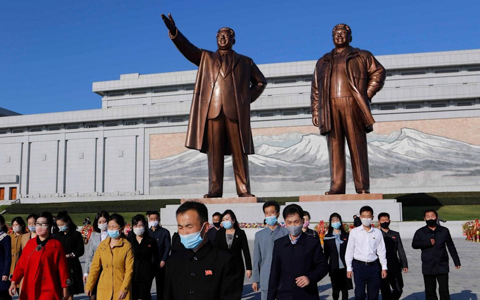 North Korea has warned its citizens to stay indoors - AP