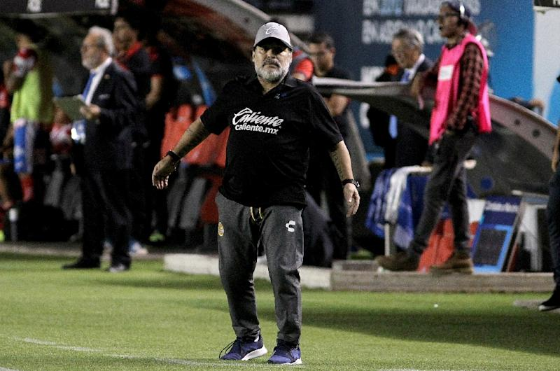 Argentine icon Diego Maradona has already undergone surgery on his left shoulder back in 2017, when he was coaching in Dubai