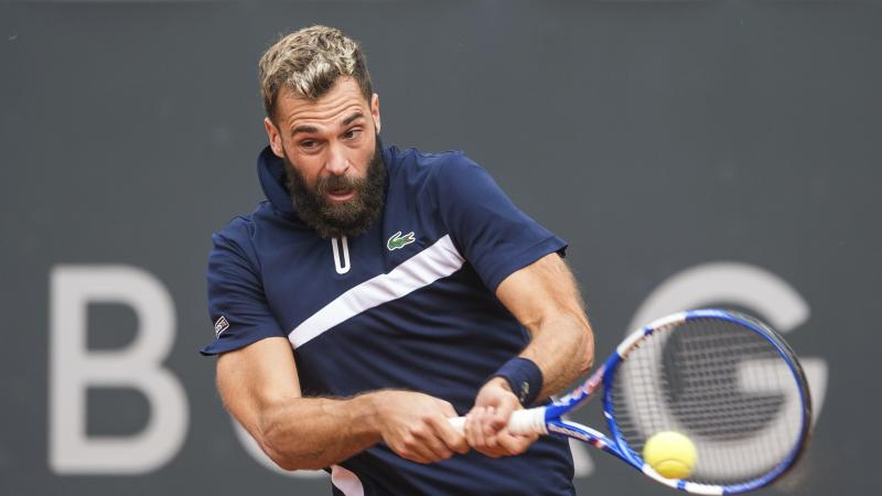 Benoit Paire allowed to play in Hamburg despite positive Covid-19 test