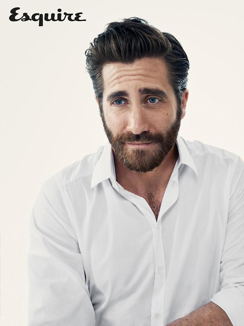 Method: Jake Gyllenhaal says method is all in the mind (David Slijper/courtesy of Esquire)