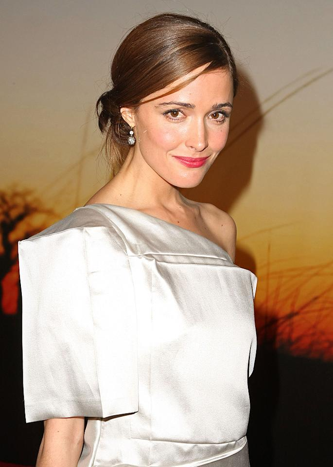 """<a href=""""http://movies.yahoo.com/movie/contributor/1800026573"""">Rose Byrne</a> at the MoMa Film benefit gala honoring Baz Luhrmann in New York - 11/10/2008"""