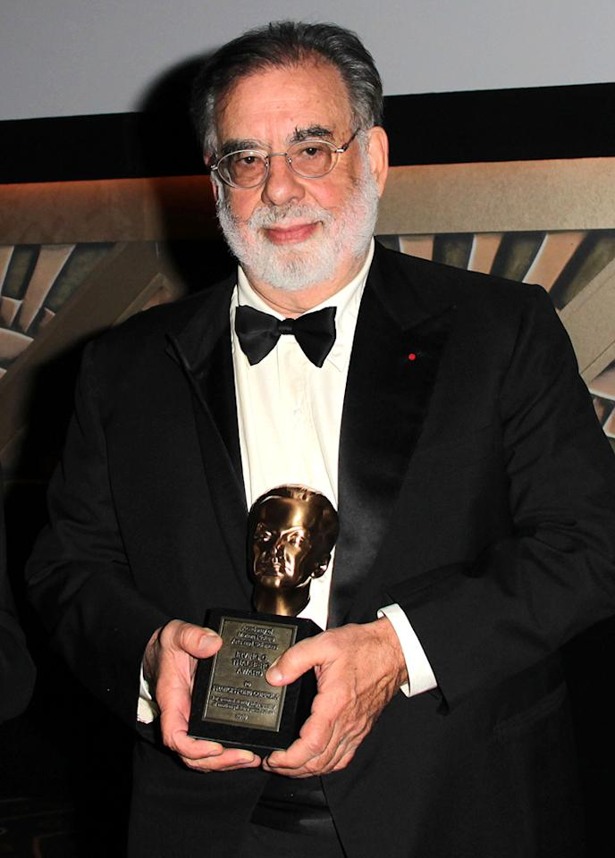"<a href=""http://movies.yahoo.com/movie/contributor/1800017123"">Francis Ford Coppola</a> attends the 2nd Annual AMPAS Governors Awards in Los Angeles on November 13, 2010."