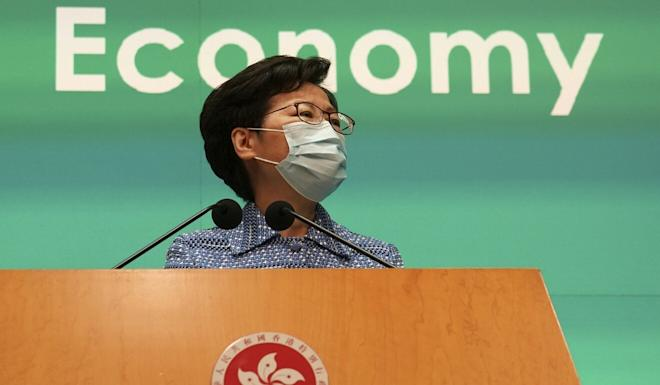 Carrie Lam had hinted at the decision before the Exco meeting. Photo: Robert Ng