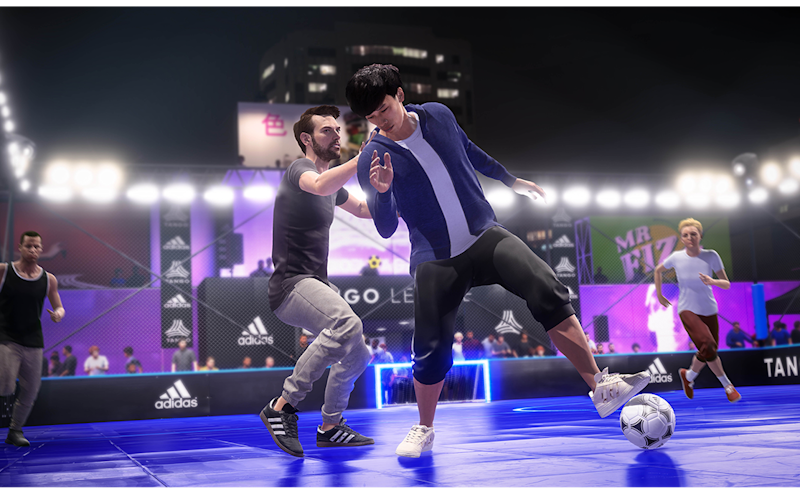 FIFA 20's new 'street' mode Volta is the football series most dramatic addition this year