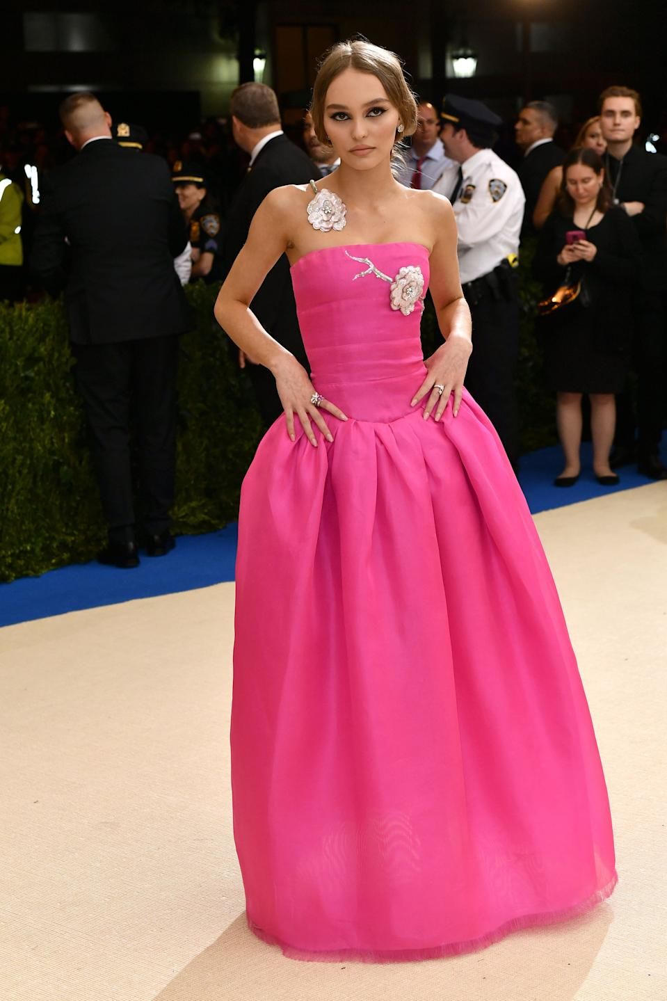 """<h1 class=""""title"""">Lily-Rose Depp in Chanel</h1><cite class=""""credit"""">Photo: Shutterstock</cite>"""