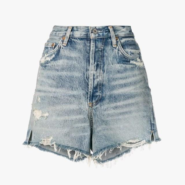 Citizens of Humanity Ricot denim shorts, was $154, now $138, farfetch.com 10% off