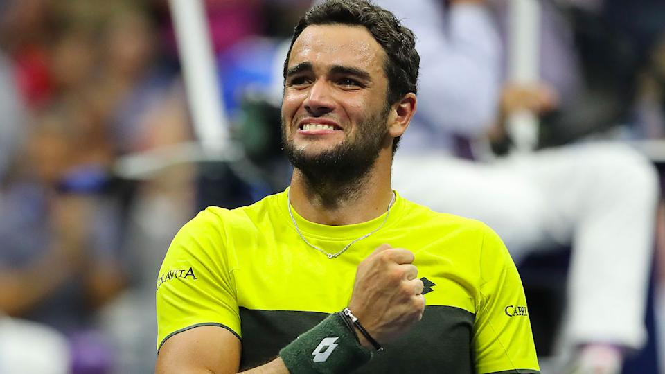 Matteo Berrettini has surprised many with his charge to the semi-finals.