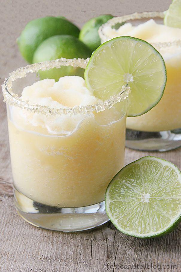 "<p>Both kids and adults alike can indulge in this homemade summertime favorite — perfect for your next warm-weather fiesta! </p><p><strong><em>Get the recipe at <a href=""http://www.tasteandtellblog.com/virgin-frozen-margaritas/"" rel=""nofollow noopener"" target=""_blank"" data-ylk=""slk:Taste and Tell"" class=""link rapid-noclick-resp"">Taste and Tell</a>.</em></strong></p>"