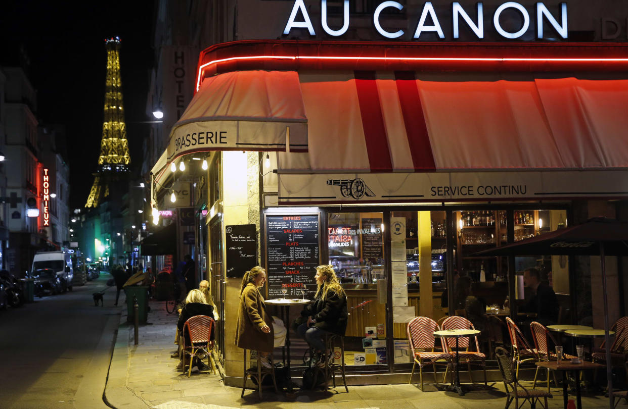 Paris Under Night Curfew