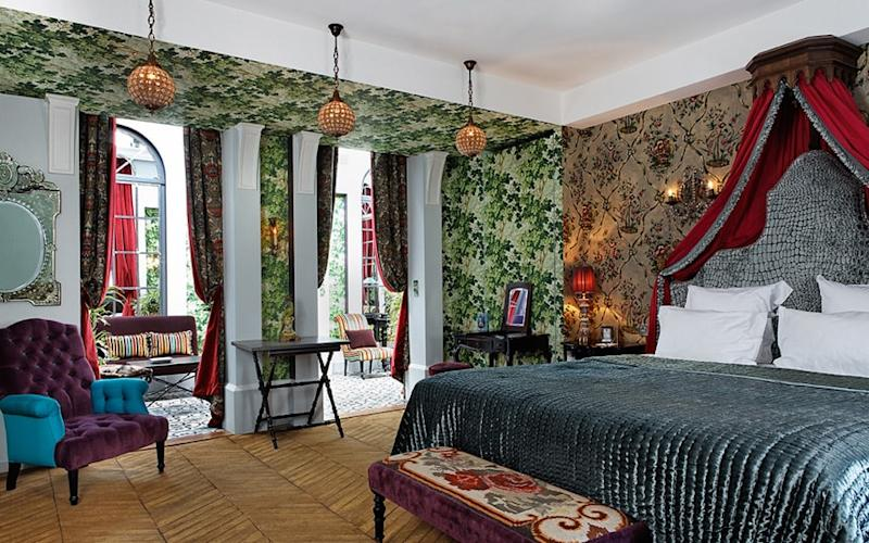 The Saint James is as close to a château hotel as you get in Paris