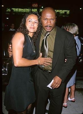 """Premiere: <a href=""""/movie/contributor/1800018957"""">Ving Rhames</a> and his wife at the LA premiere for <a href=""""/movie/1800018938/info"""">Eyes Wide Shut</a><br><center><font size=-1>Photo by <a href=""""http://www.wireimage.com"""">Jeff Vespa/Wireimage.com</a></font></center>"""