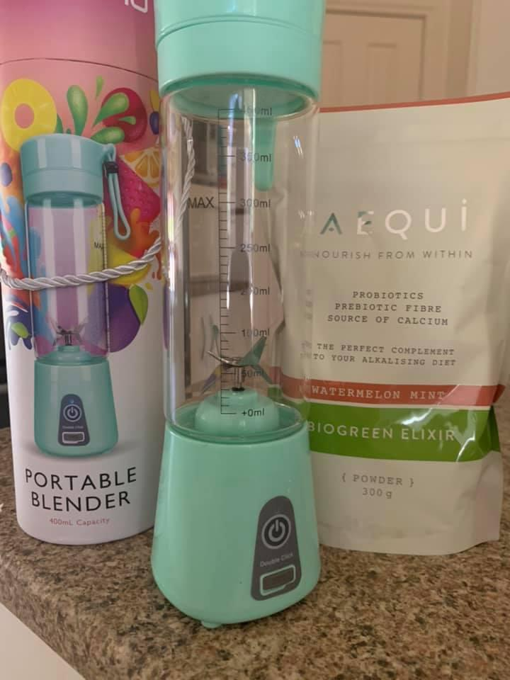 One happy shopper shared her Aldi blender buy after the popular item sold out in hours. Photo: Facebook